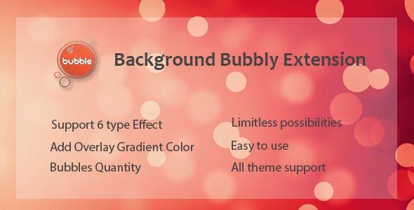 Visual Composer - Background Bubbly Effect - CodeCanyon Artikel zum Verkauf