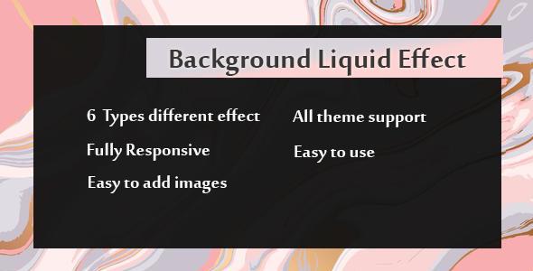 Visual Composer - Hintergrund Liquid Effects - CodeCanyon Artikel zum Verkauf