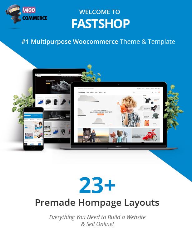 FastShop - Amazing WooCommerce WordPress Layout (RTL unterstützt) - 1