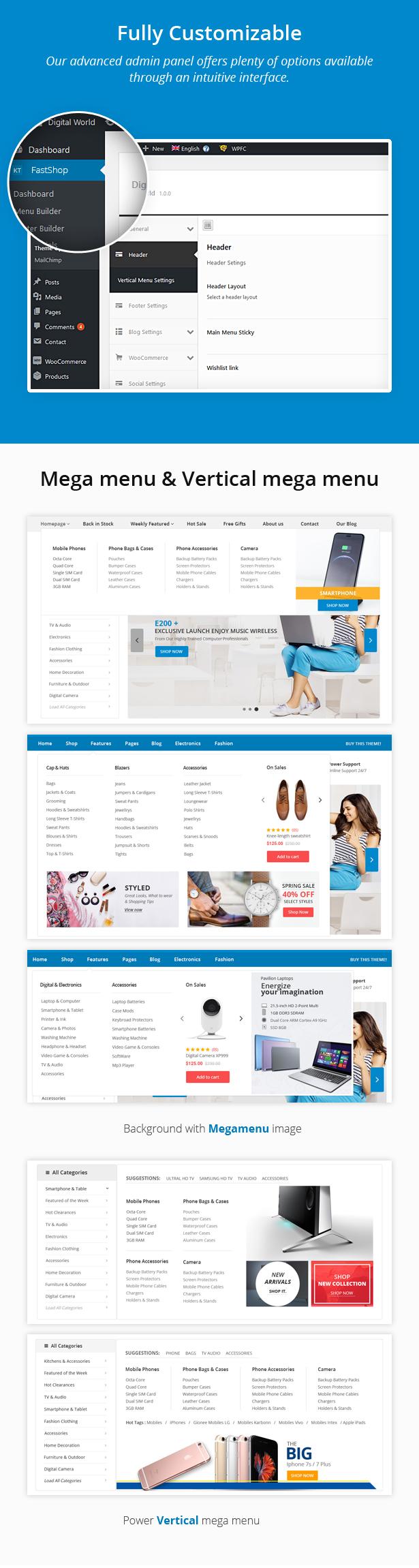 FastShop - Erstaunliches WooCommerce WordPress Layout (RTL unterstützt) - 6