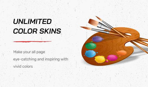 Striz Fashion E-Commerce-WordPress-Vorlage mit unbegrenzten Farb-Skins