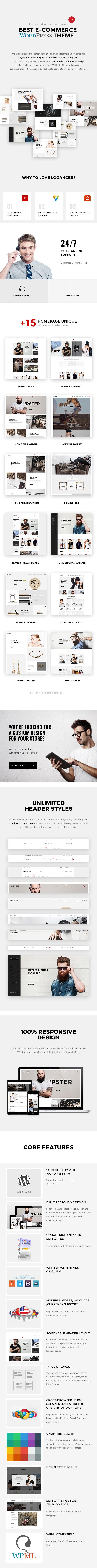 Logancee - Vielseitiges Woocommerce-Template für E-Commerce-Geschäfte - 1