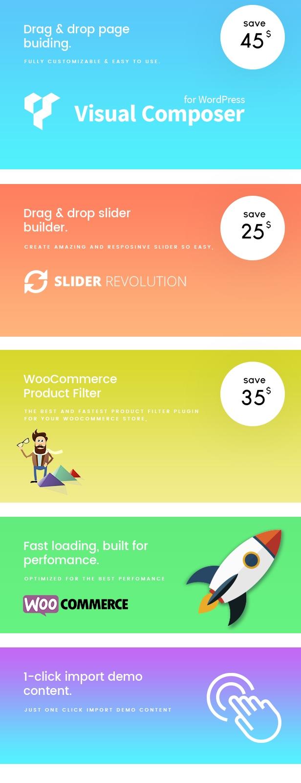 Antive - Minimales und modernes WooCommerce AJAX Vorlage (RTL unterstützt) - 14