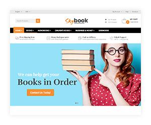 VG Skybook - WooCommerce Template für Buchhandlung - 11