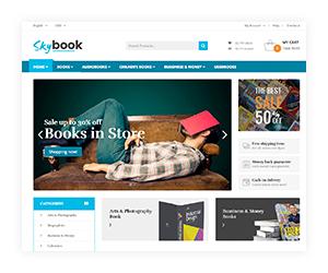 VG Skybook - WooCommerce Template für Buchhandlung - 14