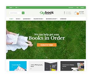 VG Skybook - WooCommerce Template für Buchhandlung - 16