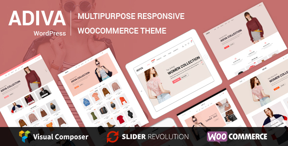 Wordpress Shop Template Adiva - eCommerce WordPress Theme