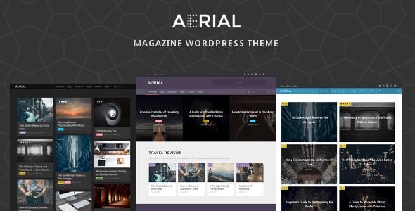 Wordpress Blog Template Aerial - Layers Magazine WordPress Theme