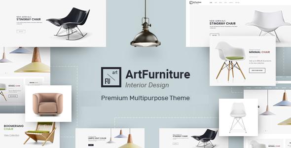 Wordpress Shop Template Artfurniture - Furniture Theme for WooCommerce WordPress