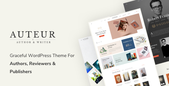 Wordpress Shop Template Auteur – WordPress Theme for Authors, Reviewers and Publishers