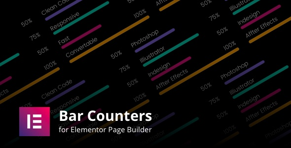 Wordpress Add-On Plugin Bar Counters Addons for Elementor Page Builder