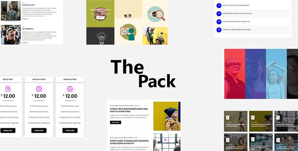 Wordpress Add-On Plugin The Pack - Elementor Page Builder Addon