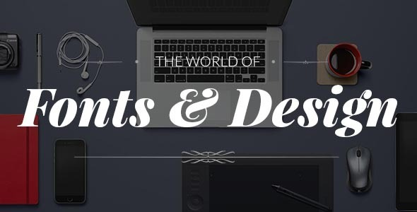 Wordpress Kreativ Template Fonto - Typography Portfolio / WooCommerce Theme