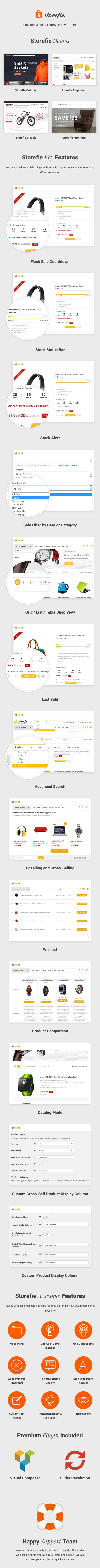 Storefie - Hochkonvertiertes eCommerce WordPress Vorlage - 1