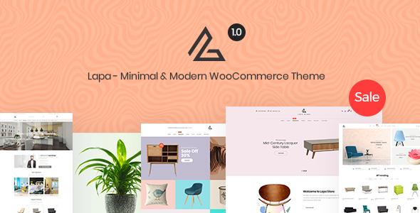 Wordpress Shop Template Lapa - Minimal & Modern WooCommerce Theme