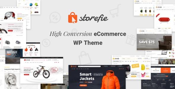 Wordpress Shop Template Storefie - High Conversion eCommerce WordPress Theme