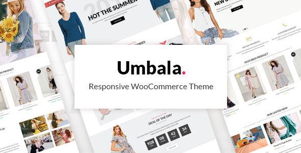 Wordpress Shop Template Umbala Fashion - Fashion Stylish Clothing WooCommerce Theme