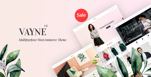 Wordpress Shop Template Vayne - Multipurpose WooCommerce Theme