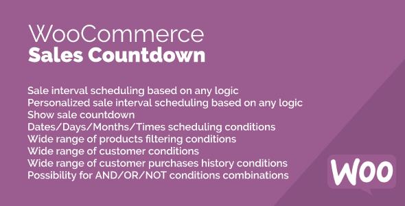 Wordpress E-Commerce Plugin Sales Countdown for WooCommerce