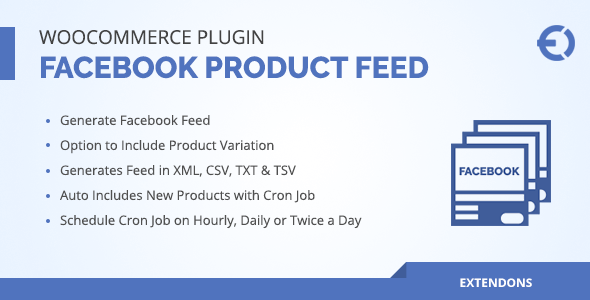 Wordpress E-Commerce Plugin WooCommerce Facebook Product Feed Plugin