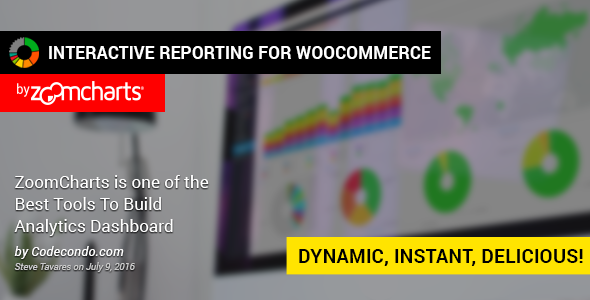 Wordpress E-Commerce Plugin WooCommerce Interactive Reporting by ZoomCharts