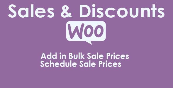 Wordpress E-Commerce Plugin Woocommerce Sales & Discounts