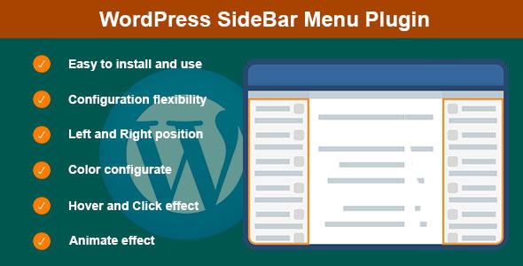 Wordpress Add-On Plugin WordPress SideBar Menu Plugin