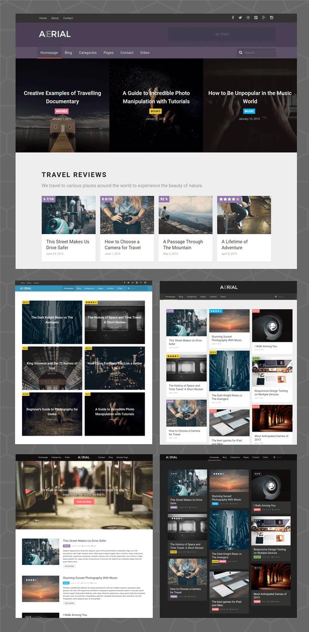 Aerial - Layers Magazine WordPress Theme - 2