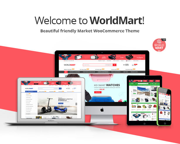 Worldmart - WooCommerce WordPress Template - 1