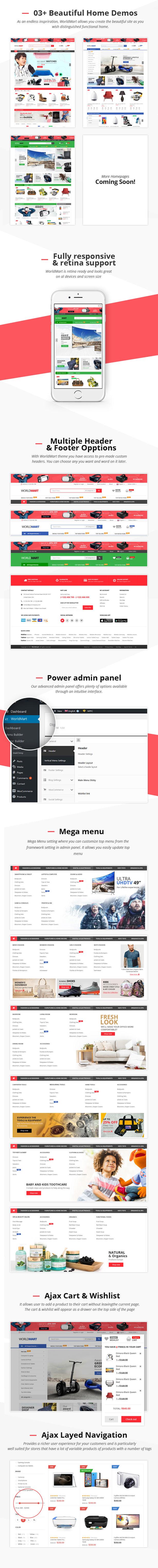 Worldmart - WooCommerce WordPress Template - 3
