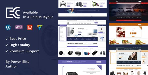 Wordpress Shop Template eCode - Multipurpose WooCommerce Theme
