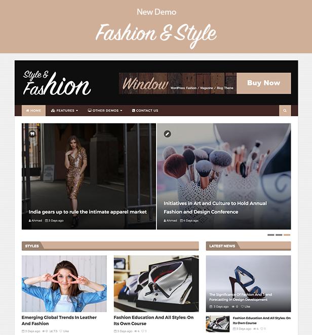 WindowMag - Responsive News / Magazin / Blog Vorlage - 2