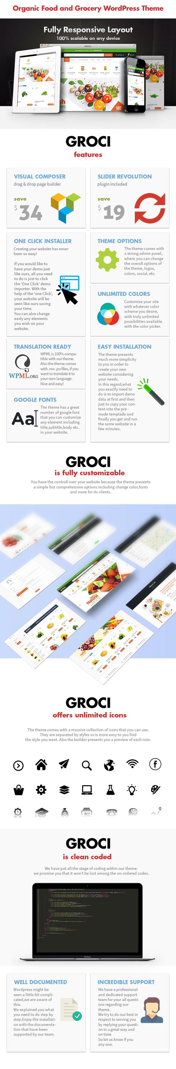 Groci - Bio- und Lebensmittelmarkt WordPress Layout - 3