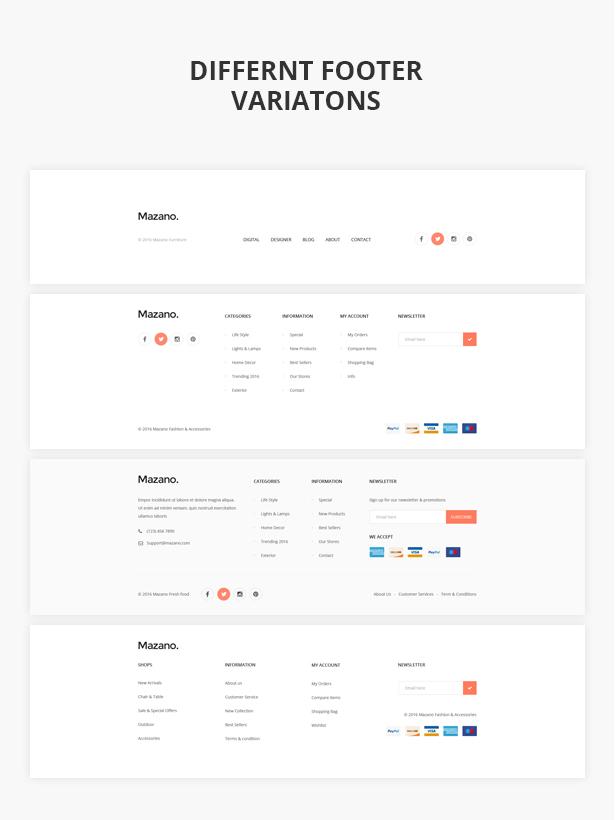 Mazano - Trendy Responsive WordPress Template - 10