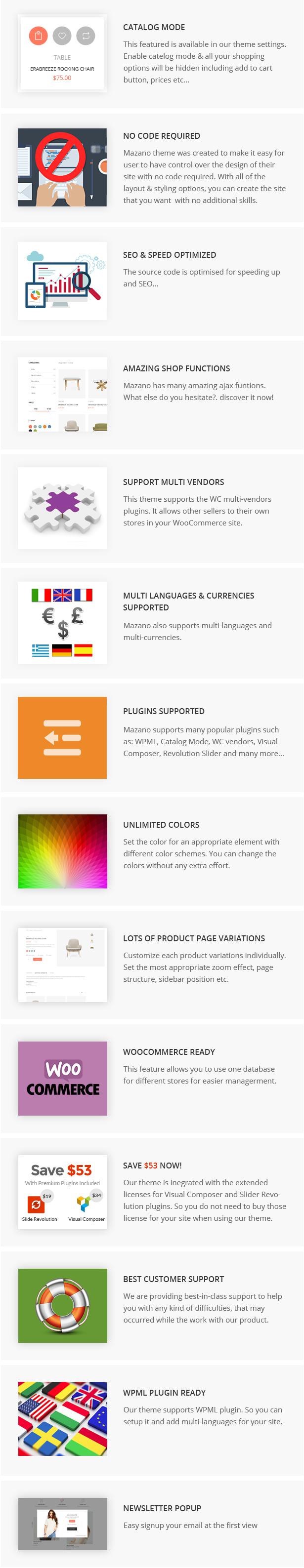 Mazano - Trendy Responsive WordPress Template - 13