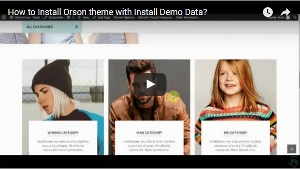 Orson - Innovatives E-Commerce-WordPress-Vorlage für Online-Shops - 2