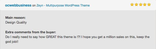 Zeyn - Mehrzweck WordPress Theme - 6