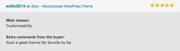 Zeyn - Mehrzweck WordPress Theme - 7