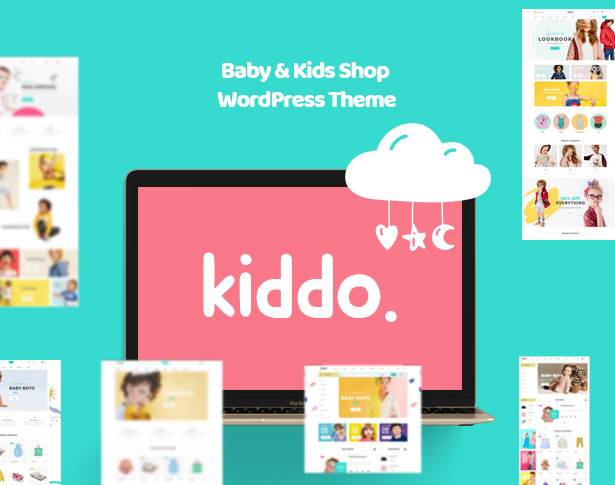 Kiddo Baby & Kid Fashion WordPress Theme für WooCommerce