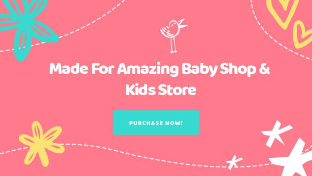 Kiddo Best Baby Kindermode WooCommerce WordPress Theme