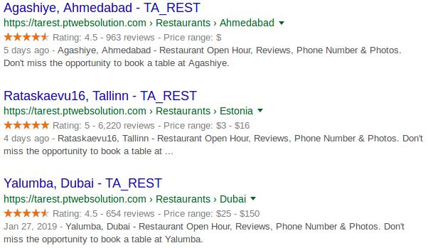 Tripadvisor Restaurants Plugin - 2