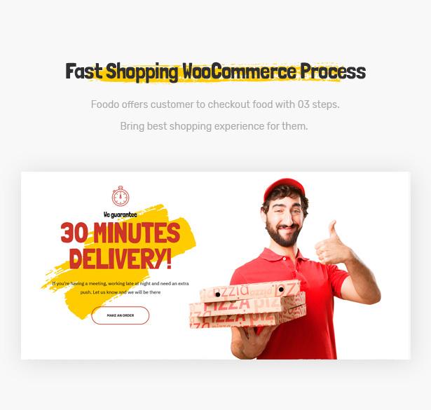 Foodo WooCommerce-Fast-Food-Restaurant WordPress Theme