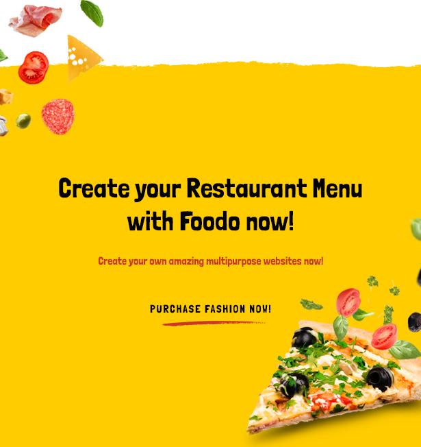 Foodo- Fast-Food-Restaurant WordPress-Theme