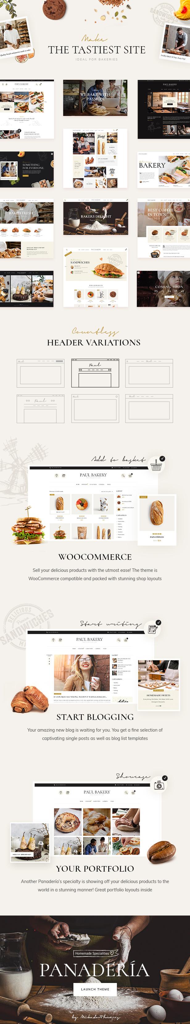 Panadería - Thema Bäckerei und Konditorei - 1
