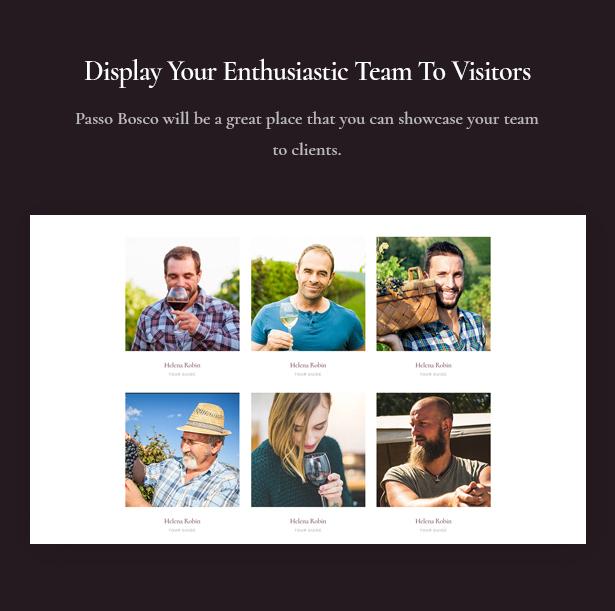 Passo Bosco ist ein Wein & Weingut WordPress