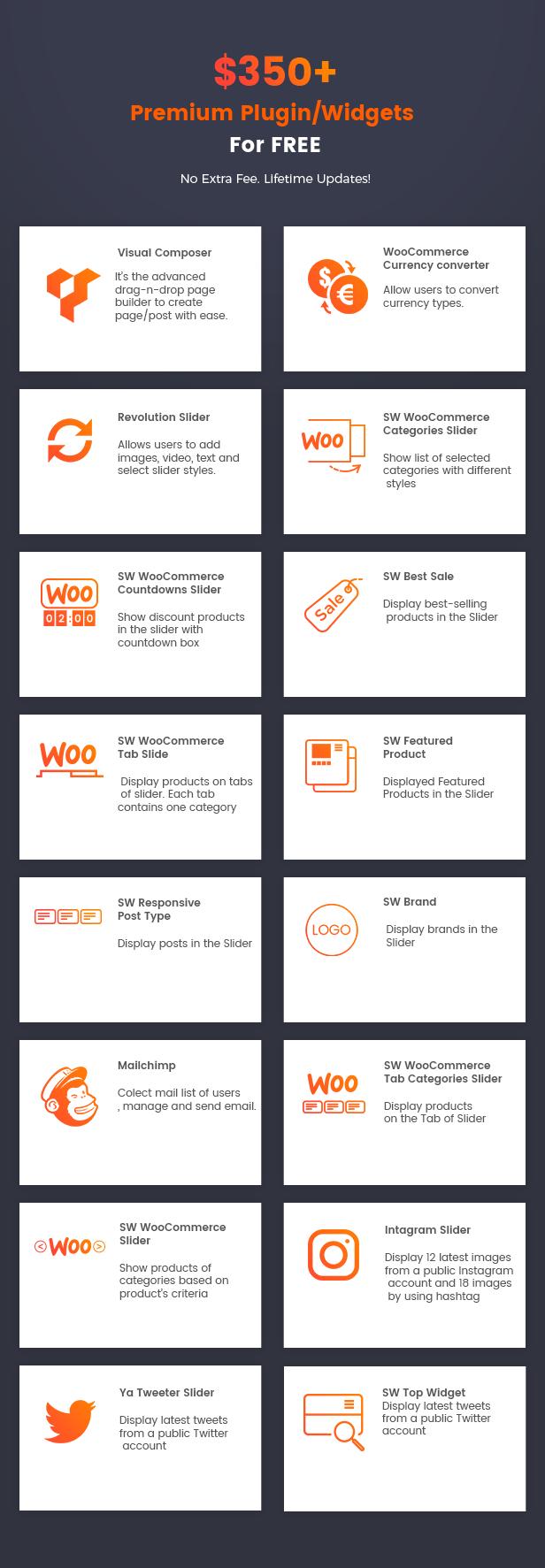 Gaion - Sport Zubehör Shop WordPress WooCommerce Theme