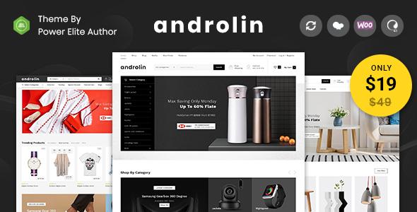Wordpress Shop Template Androlin - Multipurpose WooCommerce Theme