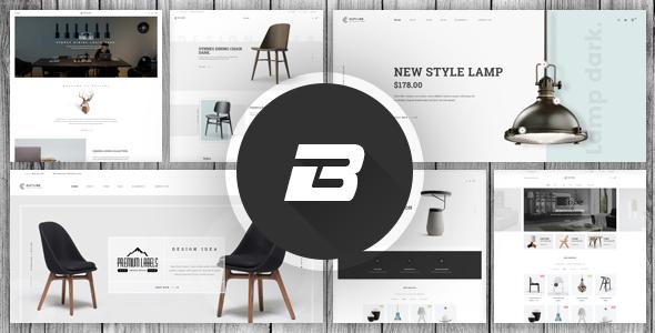 Wordpress Shop Template Benco - Responsive Furniture WooCommerce WordPress Theme