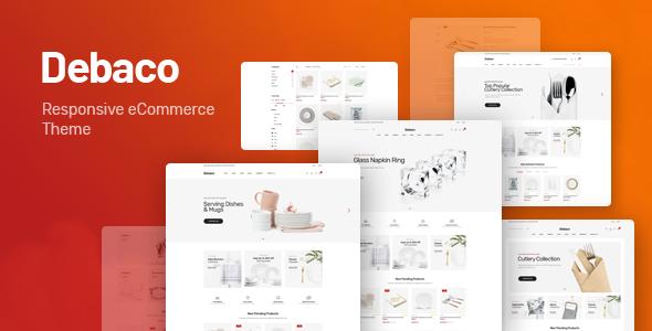 Wordpress Shop Template Debaco - Kitchen appliances for WooCommerce WordPress