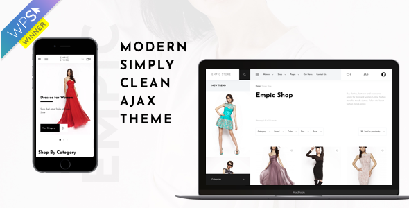 Wordpress Shop Template Empic - Ajax Powered Multi-Concept WooCommerce Theme